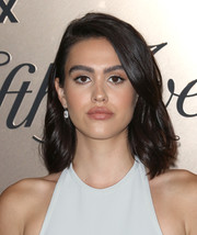 Amelia Hamlin kept it simple and classic with this mid-length bob at the Vanity Fair 2019 Best Dressed List event.