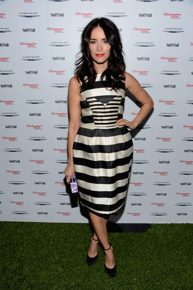 More Pics of Abigail Spencer Hard Case Clutch (1 of 13) - Abigail Spencer Lookbook - StyleBistro