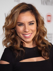 Nicole Lyn showed off a gorgeous curly 'do at the Fiat Young Hollywood celebration.