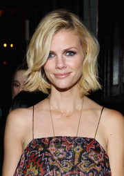 Brooklyn Decker attended the Fiat Young Hollywood celebration looking lovely with her short waves.