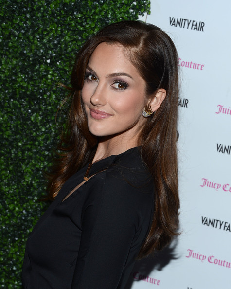 More Pics of Minka Kelly Hard Case Clutch (5 of 15) - Minka Kelly Lookbook - StyleBistro