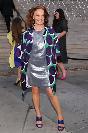 Leave it to Diane von Furstenberg to always wear prints!