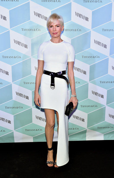 Michelle Williams in Louis Vuitton at the Vanity Fair and Tiffany & Co. Dinner