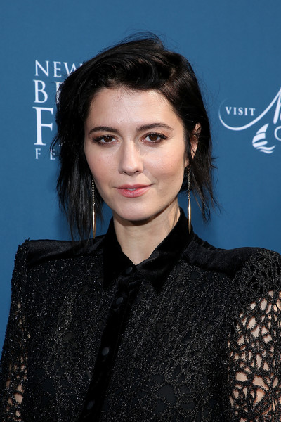 Mary Elizabeth Winstead attended the Newport Beach Film Festival Fall Honors looking edgy with her messy 'do.
