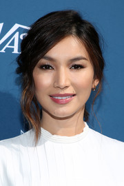 Gemma Chan looked oh-so-pretty wearing this loose ponytail at the Newport Beach Film Festival Fall Honors.