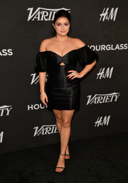 Ariel Winter was sexy yet elegant in an off-the-shoulder LBD with a tiny midriff cutout at Variety's Power of Young Hollywood event.