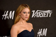 Lili Reinhart looked simply beautiful with her loose center-parted hairstyle at Variety's Power of Young Hollywood event.