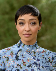 Ruth Negga topped off her look with a neat pixie when she attended Variety's Creative Impact Awards.