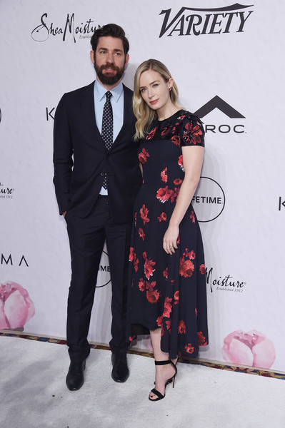 More Pics of Emily Blunt Strappy Sandals (1 of 13) - Emily Blunt Lookbook - StyleBistro