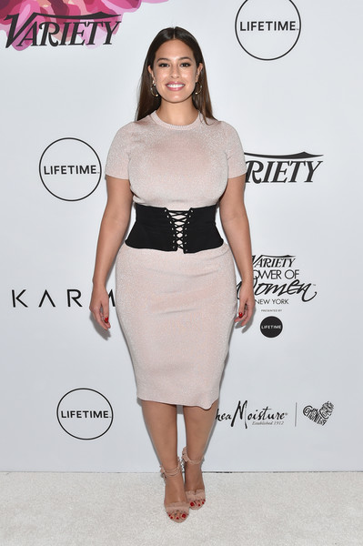 More Pics of Ashley Graham Long Straight Cut (2 of 9) - Ashley Graham Lookbook - StyleBistro