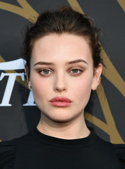 Katherine Langford sported a messy updo at the Variety Power of Young Hollywood event.
