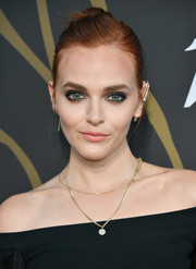 Madeline Brewer was all about edgy elegance with her twisted bun at the Variety Power of Young Hollywood event.
