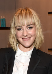 Jena Malone kept it casual with this short, messy cut at the 2014 Toronto International Film Festival.
