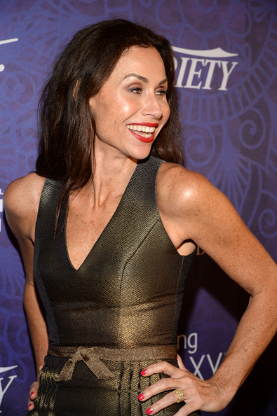 More Pics of Minnie Driver Long Straight Cut (1 of 5) - Long Straight Cut Lookbook - StyleBistro
