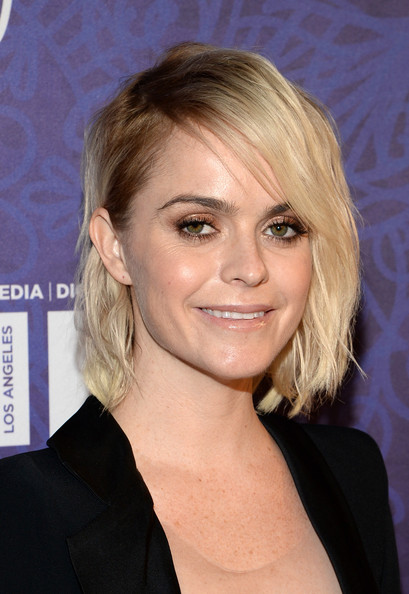 Taryn Manning went the edgy route with this side-parted wavy cut at the Variety and Women in Film Emmy nominee celebration.