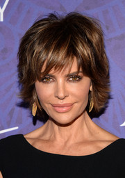 Lisa Rinna looked cool with her short, shaggy layers at the Variety and Women in Film Emmy nominee celebration.