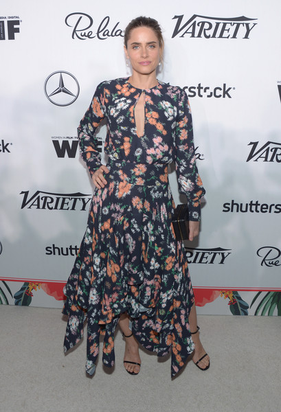 Amanda Peet at Variety and Women in Film's Pre-Emmy Celebration