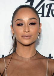 Cara Santana kept it simple with this tight ponytail at the Variety and Women in Film pre-Emmy celebration.