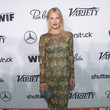 Ali Larter in Wes Gordon at Variety and Women in Film's Pre-Emmy Celebration