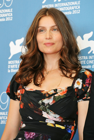 More Pics of Laetitia Casta Long Wavy Cut (4 of 12) - Laetitia Casta Lookbook - StyleBistro