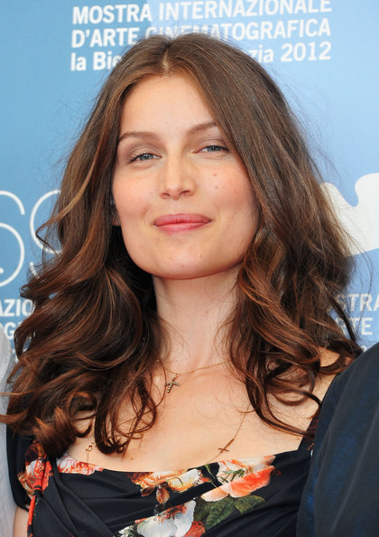 More Pics of Laetitia Casta Long Wavy Cut (1 of 12) - Laetitia Casta Lookbook - StyleBistro