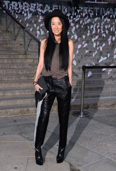 Vera Wang Leather Pants