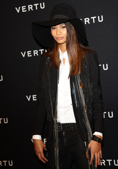 More Pics of Chanel Iman Skinny Pants (1 of 12) - Chanel Iman Lookbook - StyleBistro
