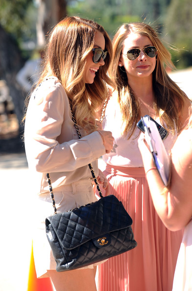 More Pics of Lauren Conrad Long Side Part (1 of 10) - Lauren Conrad Lookbook - StyleBistro