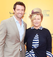 Deborra-Lee Furness had a feather in her cap during the Veuve Clicquot Polo Classic.