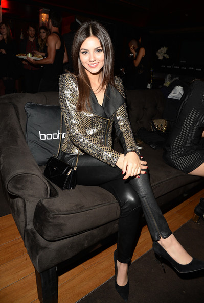 More Pics of Victoria Justice Leather Pants  12 of 42  - Victoria    Victoria Justice Leather Pants