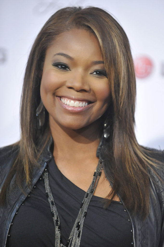 Gabrielle Union Hairstyles For Round Faces Stylebistro