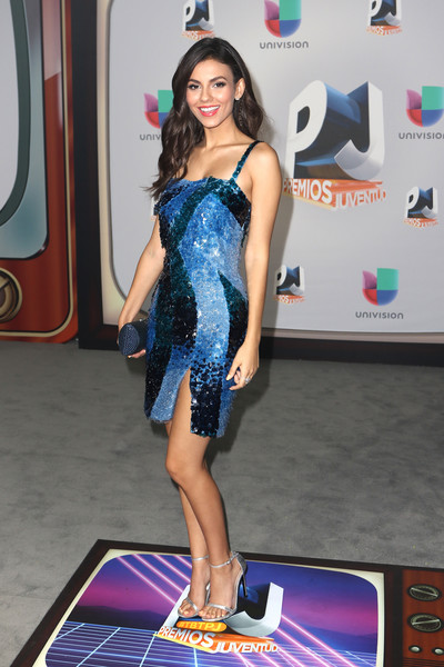 Victoria Justice Sequin Dress