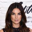 Lily Aldridge's Feathery Waves