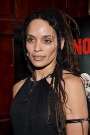 Lisa Bonet sported her signature dreadlock at the 'Ray Donovan' viewing party.