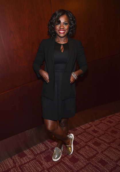 Viola Davis Little Black Dress