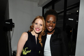 Viola Davis Jessica Chastain Women In Film's 6th Annual Pre-Oscar Cocktail Party - Inside