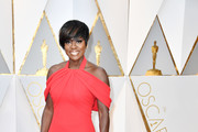 Viola Davis Metallic Clutch