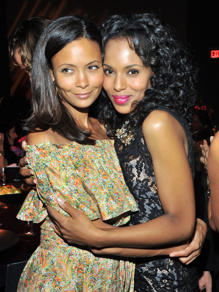 More Pics of Thandie Newton Long Straight Cut (1 of 11) - Thandie Newton Lookbook - StyleBistro