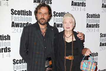 Vivienne Westwood Andreas Kronthaler Arrivals at the Scottish Fashion Awards
