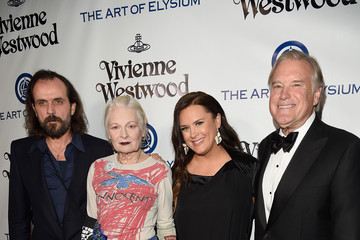 Vivienne Westwood Andreas Kronthaler The Art of Elysium Presents Vivienne Westwood & Andreas Kronthaler's 2016 HEAVEN Gala - Red Carpet