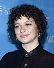 Alia Shawkat looked cute with her short curls at the 2017 Vulture Festival.