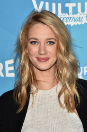 Yael Grobglas showed off beach-glam waves at the Vulture Festival.