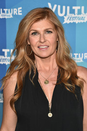Connie Britton looked lovely with her long wavy 'do at the Vulture Festival.
