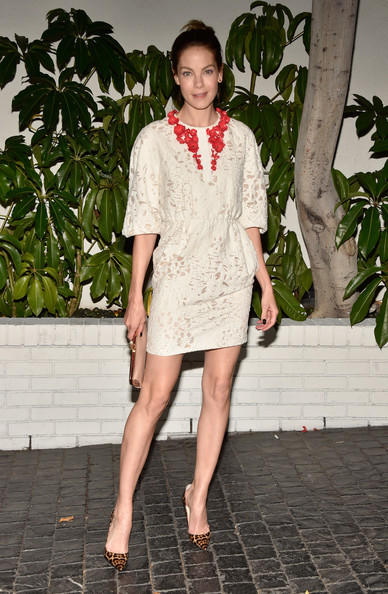 More Pics of Michelle Monaghan Pumps (1 of 1) - Michelle Monaghan Lookbook - StyleBistro