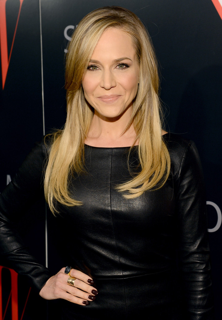 more pics of julie benz leather dress  5 of 8