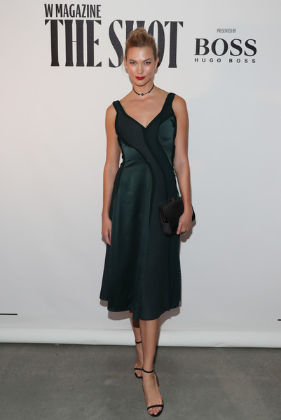 Karlie Kloss at W Magazine And Hugo Boss Celebration