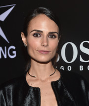 Jordana Brewster kept it relaxed with this side-parted ponytail at the W Magazine Shooting Stars exhibit opening.