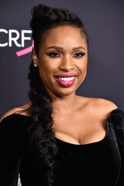 Jennifer Hudson's Queen Elsa Braid
