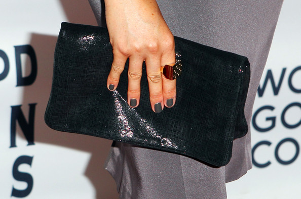 More Pics of Meghan Markle Leather Clutch (1 of 7) - Clutches Lookbook - StyleBistro