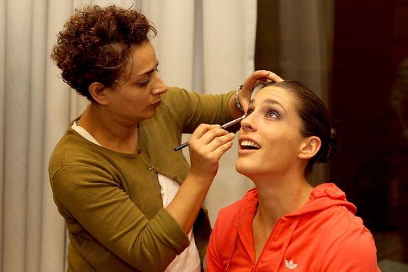 More Pics of Andrea Petkovic Classic Bun (4 of 4) - Andrea Petkovic Lookbook - StyleBistro